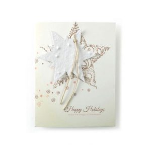 Premium Ornament Card