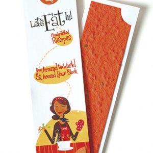 Seed Paper Strip Bookmark
