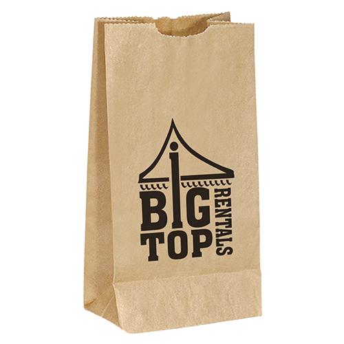 Popcorn Bag Brown