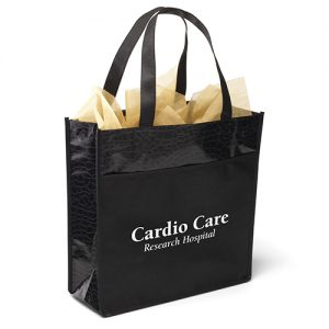 Debonaire Gloss Laminated Tote Bag