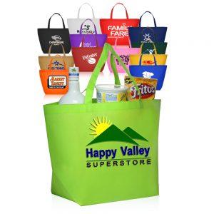 ATOT90 Budget Non Woven Shopper Tote Bags
