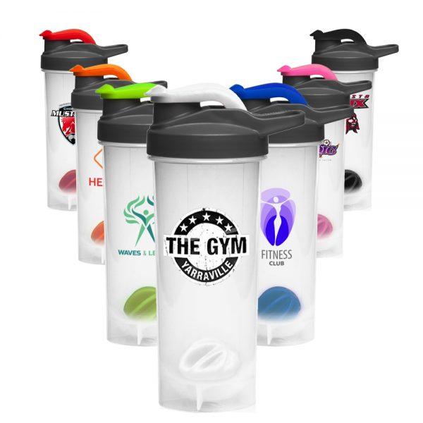 24 oz Plastic Shaker Bottles Mixer ASHB03