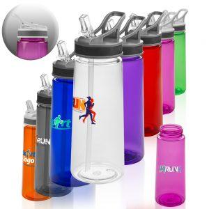 22 oz Sports Water Bottles Straw APG210