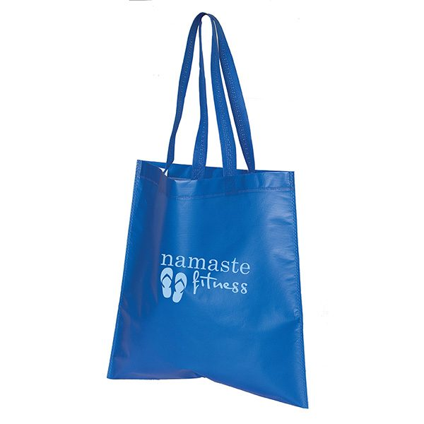 TO9039 Bree Heat Sealed Laminated Tote Bag (15W x 16H)