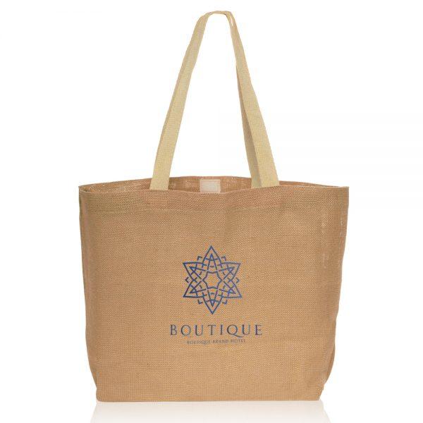Natural Jute Fiber Carry On Tote Bags ATOT3753