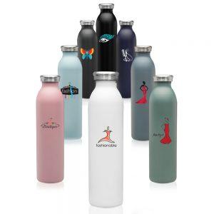 20 oz Posh Stainless Steel Water Bottles ASB271