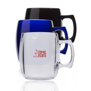 10 oz Sephardi Translucent Plastic Mugs APC30